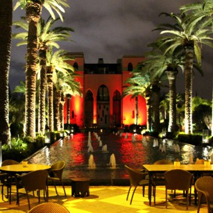 Morocco Luxury Hotel by night