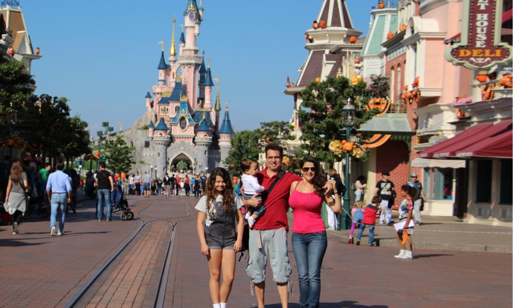 europe-france-disney we four